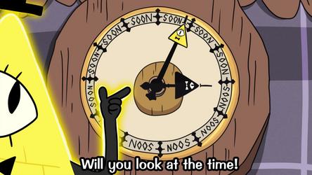 Bill Cipher Soon O' Clock