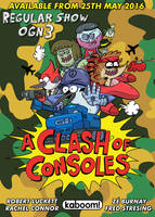Regular Show OGN3 A Clash Of Consoles Advert by luckettx