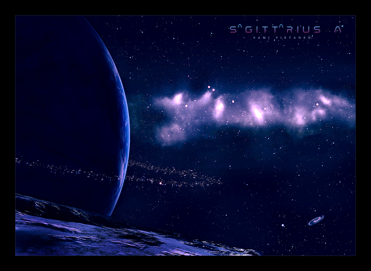Sagittarius A by Wertonen