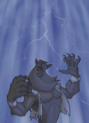 Lightning by hamstertoybox
