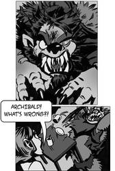 Archibald's Pissed (Pure of Heart Comic Preview)
