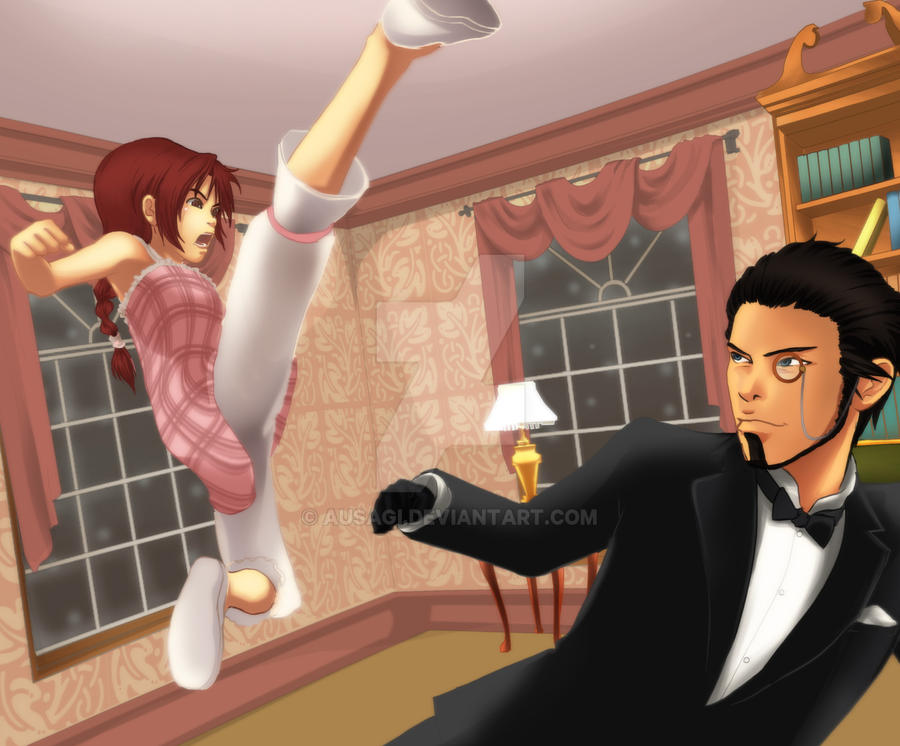 Sparring with my Butler by Ausagi