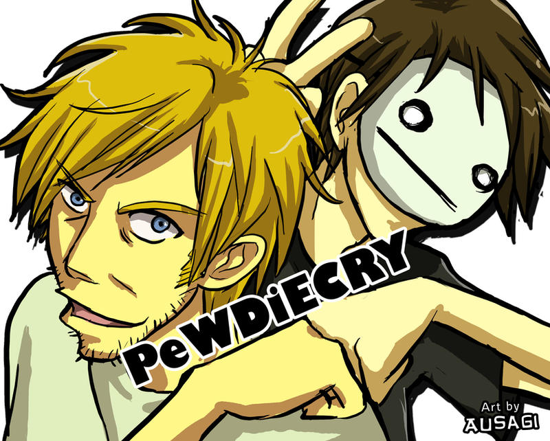 PewDieCRY Fan Art by Ausagi