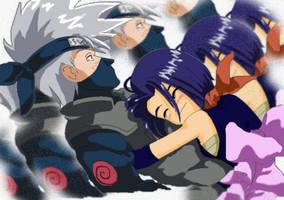 Kakashi and a FanGirl by Ausagi