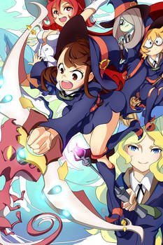 Shiny Arc! - Little Witch Academia