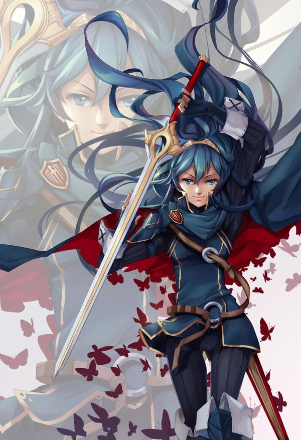 Vavantine, the Lotus Knight Lucina___fire_emblem_awakening_by_lucidsky-d7kuftp