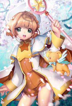 Card Captor Sakura with KEROBER