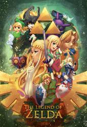 Legend of Zelda - Wii/WiiU/DS/etc Era by lucidsky
