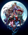 UDON Capcom Fighting Tribute - Aensland sisters
