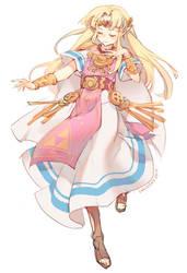 Zelda Doodle by lucidsky