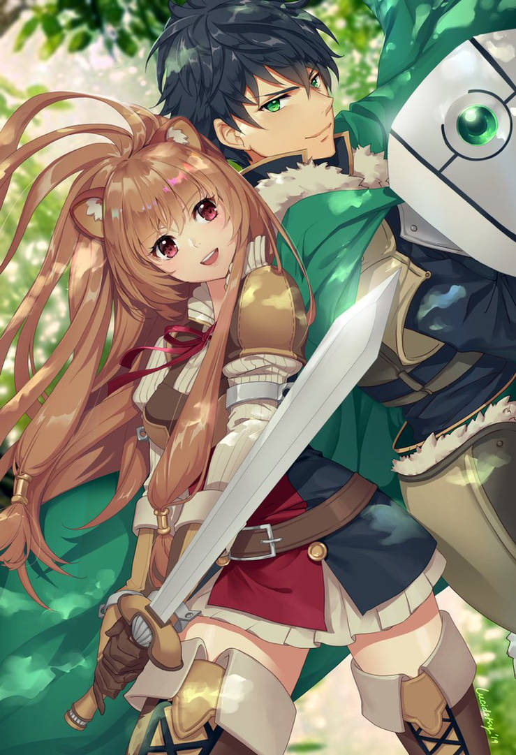 Rising of the Shield Hero by lucidsky