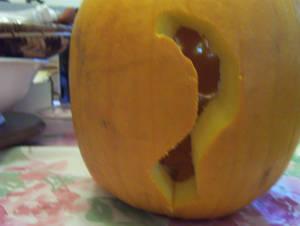 Pumpkin Kitty's Tail