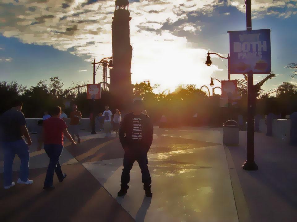 Chasing the Sun @ Universal Studios by vams