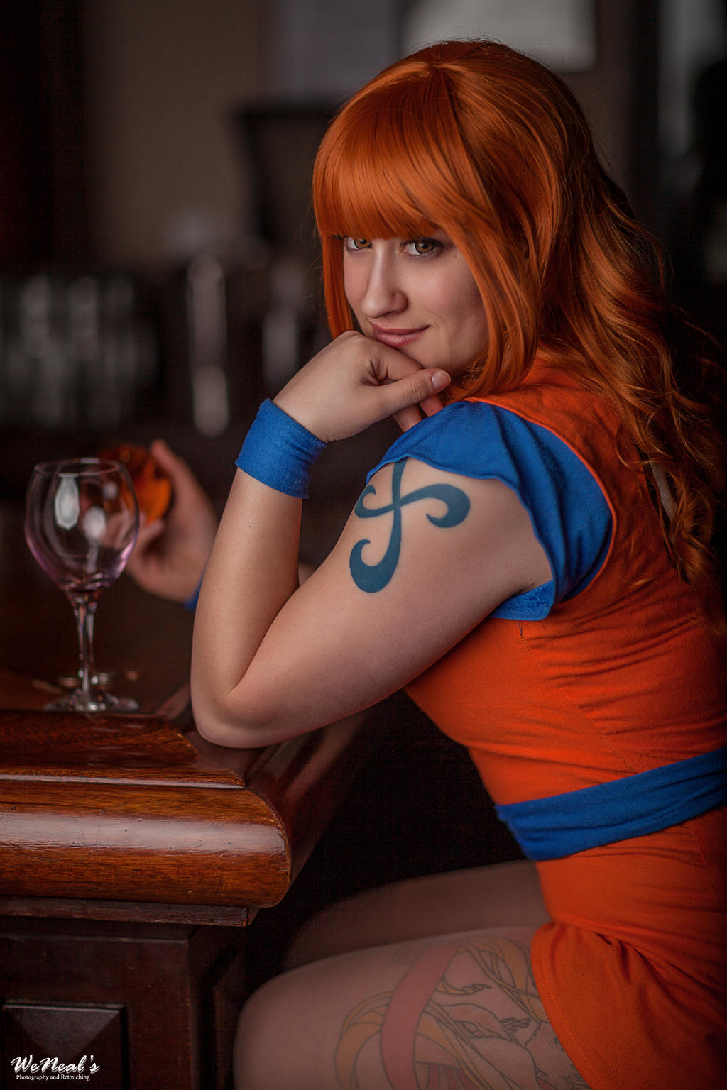 Time Skip Nami Swan DBZ One Piece Crossover by St3phBot
