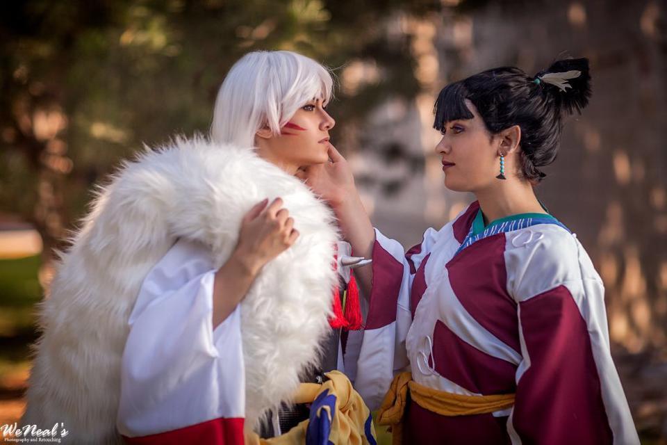 Sesshomaru and Kagura by St3phBot