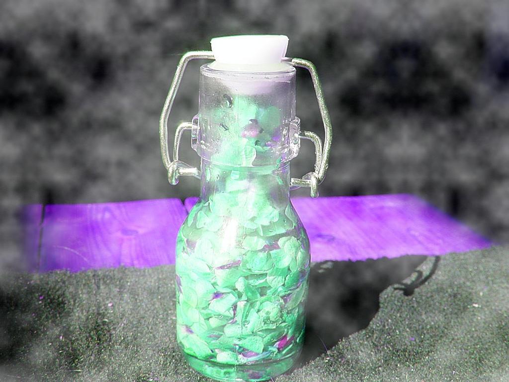 Violet flowers elixir by Morgenstern-Elfe
