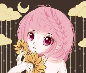 moonlight girl by Malaveneko