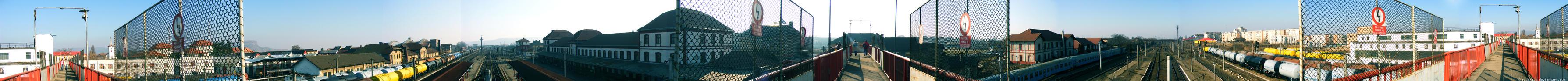 Simeria Train Station Panorama by radexutz