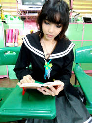 Reading by hoshikohikari