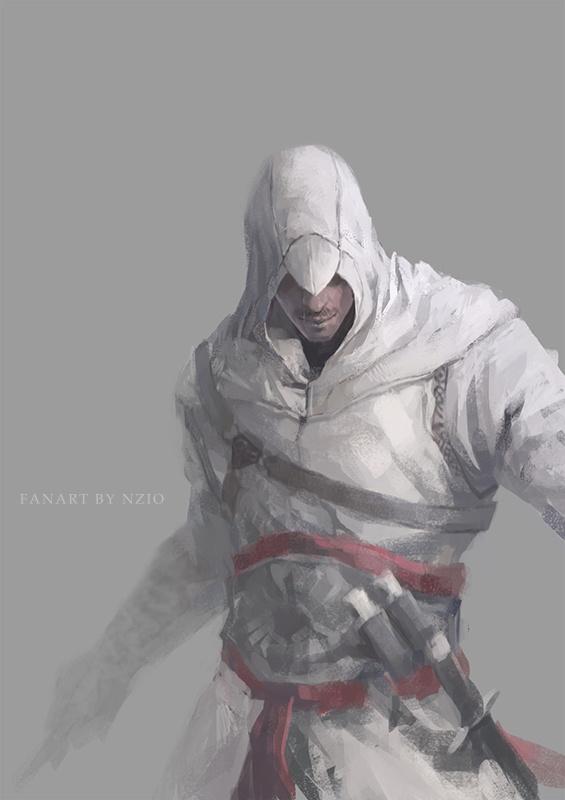 Assassin S Creed Altair By Nzio Deviantart On Deviantart