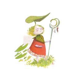 Lady Leaf by Z-Oras