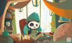 Captain Panda by Z-Oras