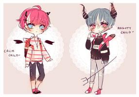 Demon children Adopt (closed )