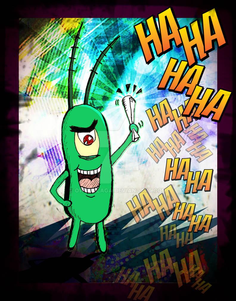 Plankton and the Krabby Patty Recipe!