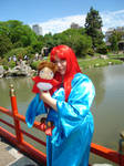 Ponyo Cosplay -Gran Mamare-