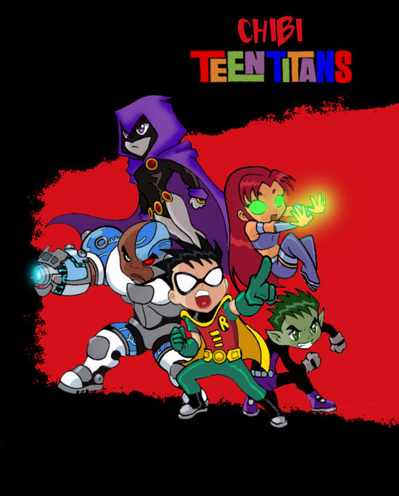 Chibi Teen Titans by S...