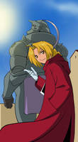 + Elric brothers + FanArt
