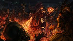 Diablo III :Wizard , burn em all! by CGlas