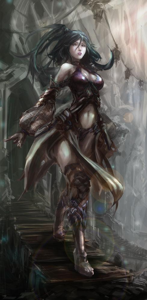 Martial lady by CGlas