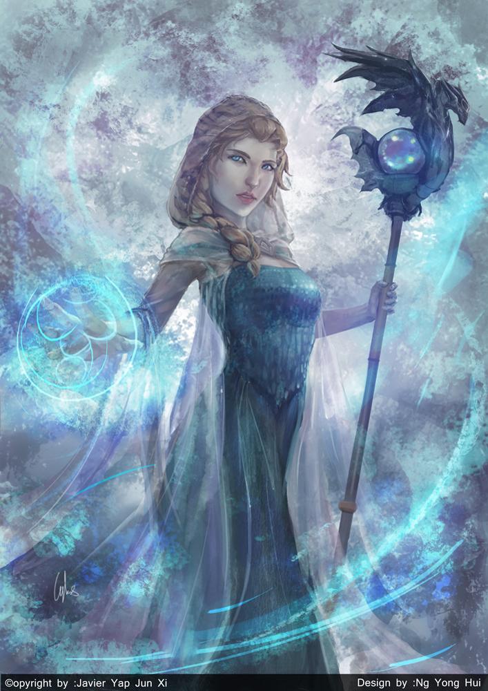 Elsa + Crystal Maiden by CGlas on DeviantArt
