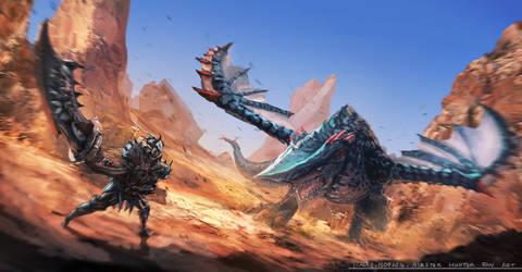 Monster Hunter Fanart 1