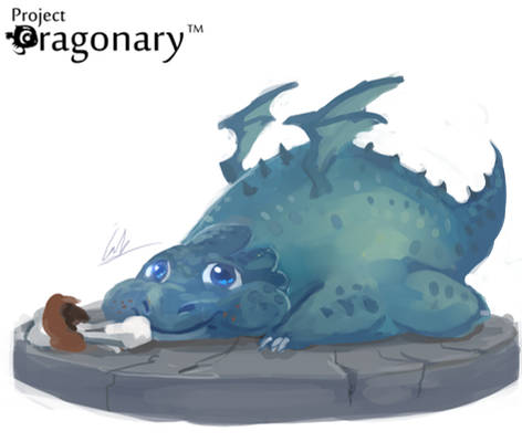 Project Dragonary- Thanks giving dragon!