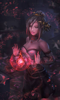 Blood Crystal witch