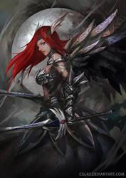 Erza Scarlet by CGlas