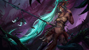 LOL HAlloween tribute 2015 -Blue Flame Nidalee