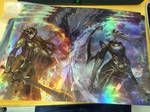 Sun and Moon FOIL prints for sales