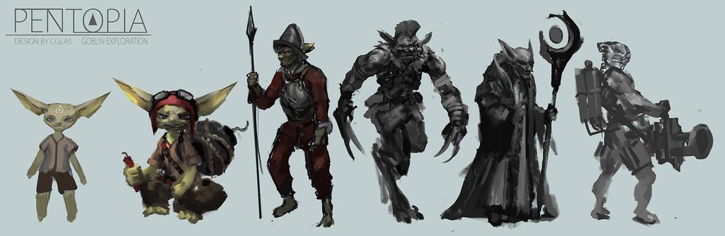 Goblin Sketch-2000 by CGlas