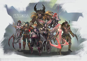 Pentopia Lineup #2 by CGlas