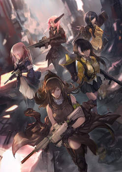 Girls frontline-Team AR on a mission