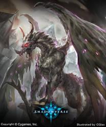Shadowverse: Dragon Sculpture by CGlas