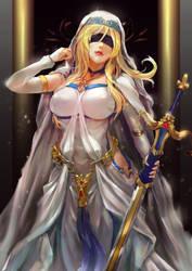 Sword Maiden by CGlas