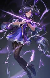Genshin Impact-Keqing