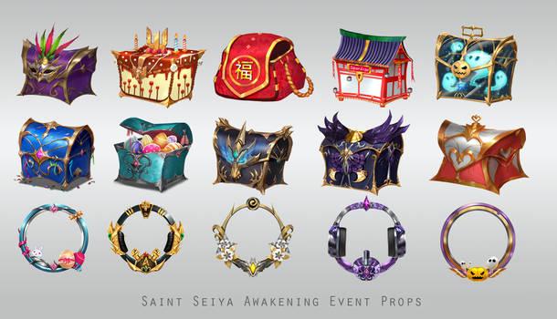 Saint Seiya Awakening -Prop Design