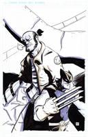 Hellboy and Wolverine by ryancody