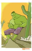 Amazing Arizona Hulk by ryancody