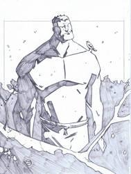Hulk Pencil Commission by ryancody